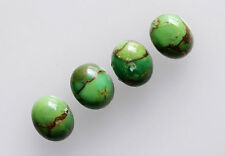 Green Copper Turquoise 18X13MM Oval Shape, Calibrated Cabochons AG-213