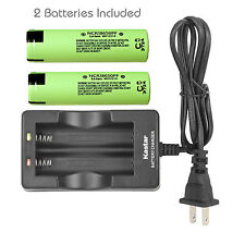 Kastar 18650 Battery Charger Panasonic NCR18650PF High Drain Flat 3.6V 2900mAh