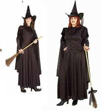 Classic Witch Adult standard and plus size Halloween Costume by Forum New
