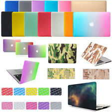 """Shockproof Hard Case + Keyboard Cover For Macbook Air Pro Retina 11"""" 12"""" 13"""" 15"""""""