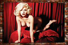 Home Decor Art wall Maria Monroe sexy Oil Painting Giclee HD Print on Canvas