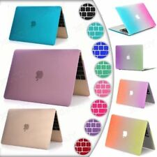 """Hard Case Shell +Keyboard Cover for Macbook 12 Pro 13/15"""" Air 11/12""""inch Retina"""