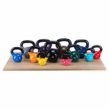 50 LBS Solid Kettlebells Home Gym Training Weight Fitness  Strength KettleBell
