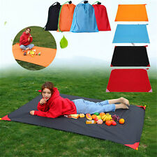 Portable Outdoor Beach Camping Hiking Picnic Moistureproof Mat Nylon Blanket Gif