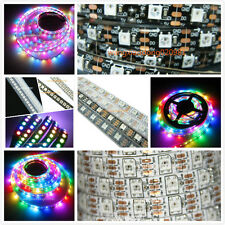 5V WS2812B 5050 RGB LED Strip 5M 150 300 Leds 144 60LED/M Individual Addressable