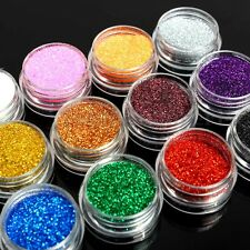 Holographic Nail Glitter Dust Powder For Face Painting Body Art Nail Art Decor