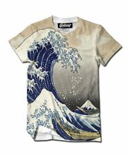 NEW WITH TAGS Beloved Shirts GREAT WAVE TEE SHIRT SMALL-3XLARGE MADE IN THE USA