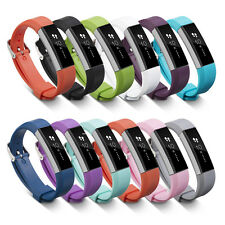 Luxury Silicone Replacement Wrist Band Strap Bracelet For Fitbit Alta 11 Colors