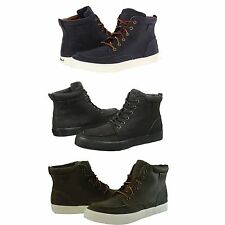 Polo Ralph Lauren Mens Tedd Lace Up Moc Toe High Fashion Ankle Boots Shoes