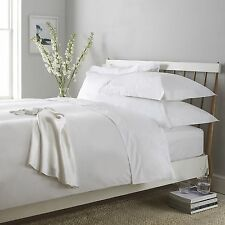 100% EGYPTION COTTON LUXURY FLAT BED SHEET 200 THREAD COUNT SINGLE DOUBLE KING