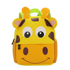 Giraffe Rabbit Dog Design Children's Backpack Boy Girl Rucksack Kindergarten Bag