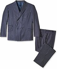 Stacy Adams Tailored 5642-002BT Mens Big and Tall Sam Striped Double