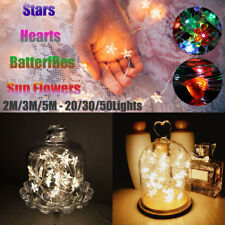 2-4M LED Battery Operated Copper Wire String Fairy Light Party Home Decor Lights