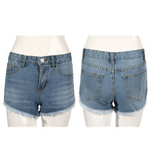 Vintage Sexy Women Denim High Waisted Shorts Jeans Hotpants UK Size 8/10/12 NR