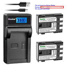 Kastar Battery Charger Canon NB-2L PowerShot G7 G9 S30 S40 S45 S50 S60 S70 S80