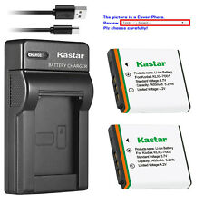 Kastar KLIC-7001 Charger Battery for Kodak EasyShare M863 M893 IS M1063 M1073 IS