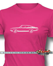 1969 Plymouth Barracuda 440 'Cuda Fastback T-Shirt for Women Multi. Colors Sizes