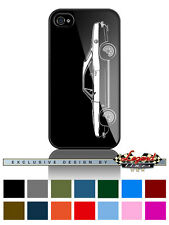"""1967 Plymouth Barracuda Coupe """"Profile"""" Phone Case iPhone & Samsung Galaxy"""