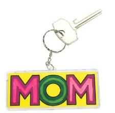 "1 Design Your Own! ""MOM"" Key Chain**Free S/H when u buy 6 items from my store:-)"
