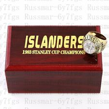 1983 New York Islanders Stanley Cup Championship Copper Ring Size 10-13 Solid