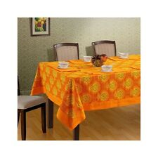 Tablecloth Floral Printed Orange New Tableware Rectangular Runner Table Cover