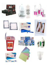 Tattoo Supplies As Low as $3.50- Black Gloves & Soaker Pads, Green Soap, Razors