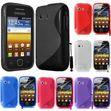 Cases for Samsung Galaxy Y Neo GT-S5360 Silicone Flip Case Cover Case