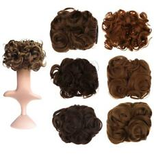 Women Curly Pony Tail Hair Bun Clip in Scrunchie Hair Extension Hairpiece