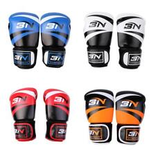 PU Leather Boxing Gloves Fighting Punch Bag MMA UFC Sparring Grappling Muay Thai