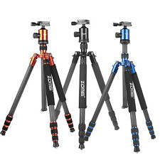 ZOMEI  Z818C Pro Carbon Fiber Camera Tripod Monopod Ball Head for DSLR Camera