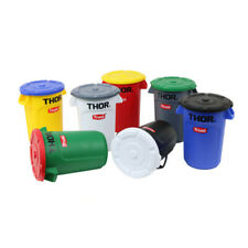 Trust Plastic Storage Containers bins basket Organizer with Lid