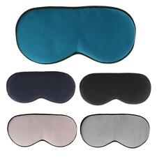 Natural Silk Sleep Eye Mask Travel Shade Cover Nap Rest Sleeping Aid Blindfold