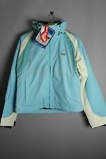 Quiksilver QEWJX034 Blue Bright Light Zip Down Jacket Ski Snowboarding Coat