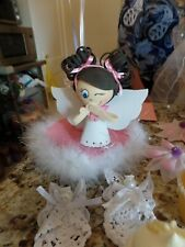 Angel Pick for centerpieces, baby showers, baptism, christening, cake topper