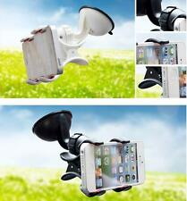 360º Rotating Bed Desktop Car Stand Mount Holder For iPhone Cell Phone GPS /G01
