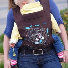 Wrap Newborn Baby Safety Front Back Toddler Baby Carrier Sling Floral Sling