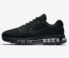 Nike AIR MAX 2017 MEN'S RUNNING SHOES Rubber Outsole BLACK - US 8.5, 9 Or 9.5