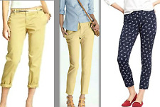 J.CREW Favorite City Fit SCOUT TROUSER TWILL CHINO PANTS CROP ANKLE 8