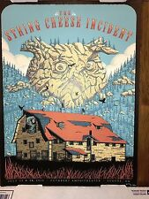 2016 String Cheese Incident Art Print Poster Neal Williams Signed AE 27/30