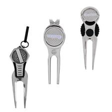 Golf Divot Tool with Magnetic Ball Marker Pitch Repair Tool Portable