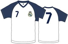 REAL MADRID CRISTIANO RONALDO #7 POLY ADULT T-SHIRT OFFICIALLY LICENSED SM-XL