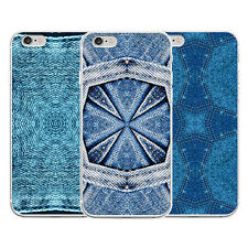 Lightweight Denim Jeans Pattern Phone Case for iPhone Samsung Galaxy S7 Exotic