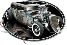Blown Rat Rod Coupe Hot Rod T-shirt Small to 5XL