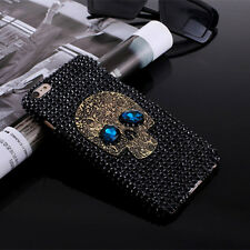 skeleton handmade bling rhinestone phone cover case for iphone6/6s 7 plus  W&T