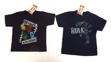 Marvel Comics Superheroes Boys Kids Toddler Size 3T T-Shirt 100% Cotton NWT