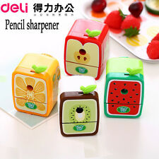Pencil Sharpener Cute Hand Crank Manual Knife Sharpener Hand-Operated Stationery