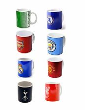 OFFICIAL SOCCER CLUB MUGS 11oz IN GIFT BOX CHOOSE YOUR CLUB FROM DROP DOWN MENU