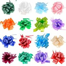 Large 50mm Pull Bow Quality Gift Wrap Craft Ribbon Wedding Car Birthday Party
