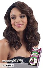 GREEN CAP GRACIE - FREETRESS EQUAL SYNTHETIC LACE FRONT WIG LONG WAVY