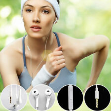 3.5mm In-Ear Earphone Earbud Headset with Mic for mobile , pc , mp3 , JS